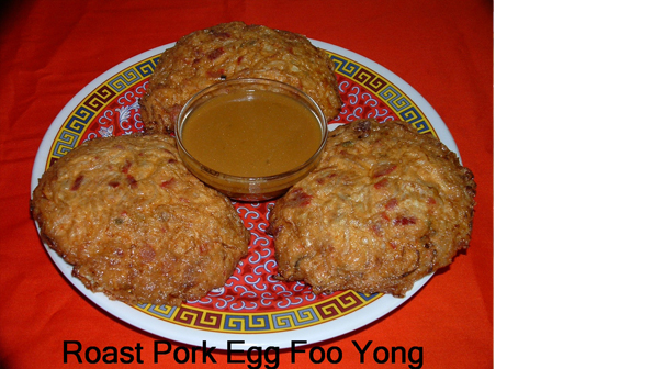 Pork Egg Foo Yung